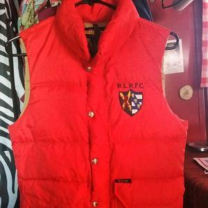 ralph lauren rugby puffy vest